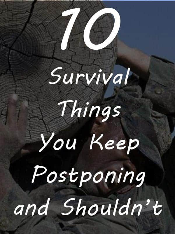 postponing survival things pinterest