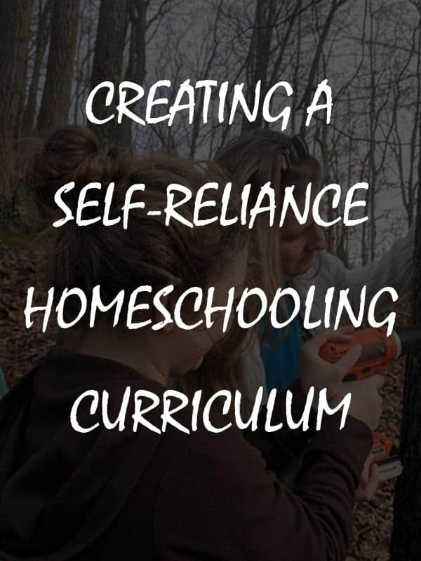 self-reliance curriculum pinterest
