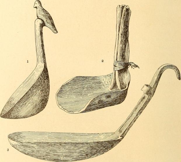 primitive spoons