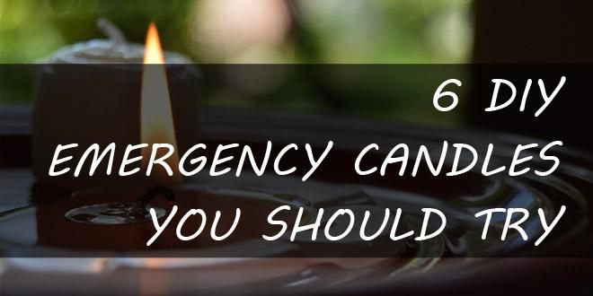 diy emergency candles featured