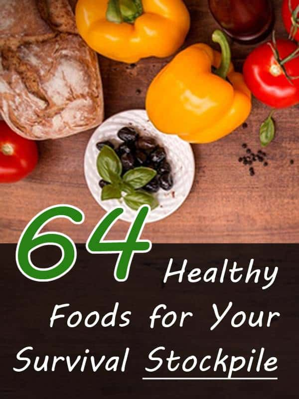 healthy foods to stockpile pinterest