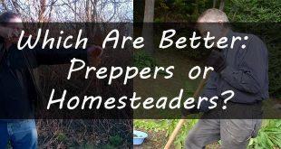 preppers vs homesteaders