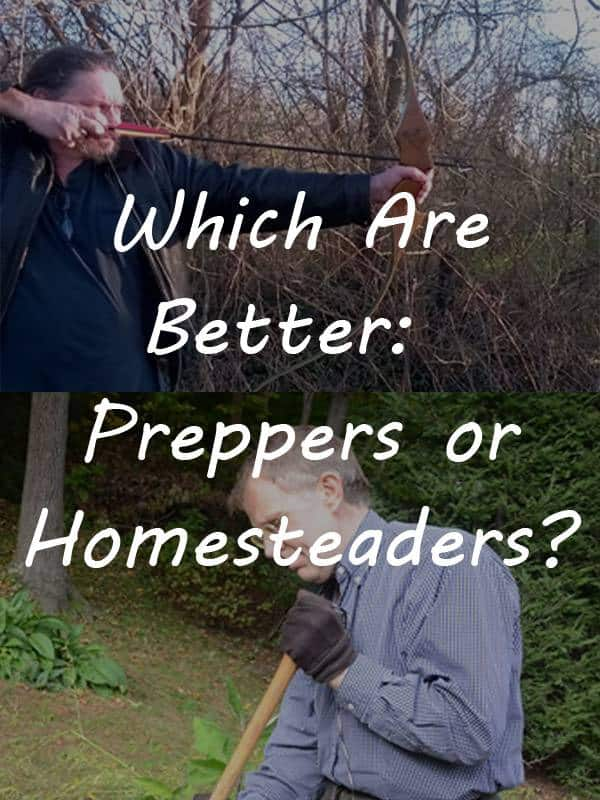 preppers vs homesteaders pinterest