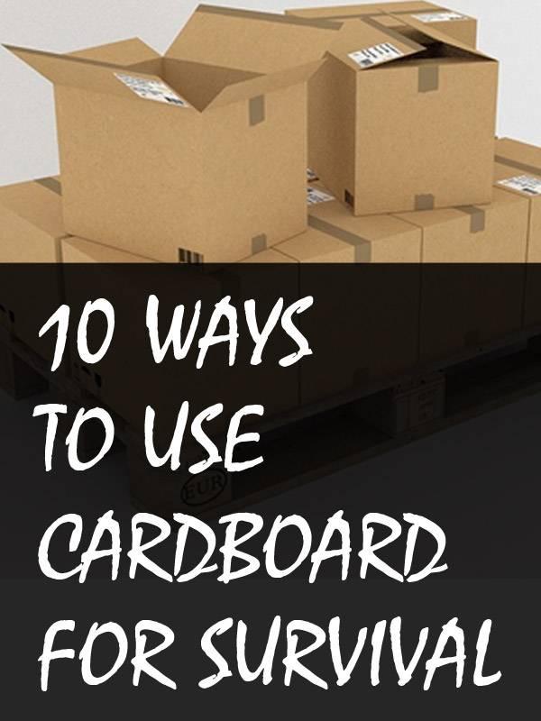 cardboard uses pinterest