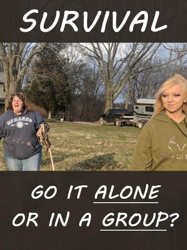 survival alone group pinterest