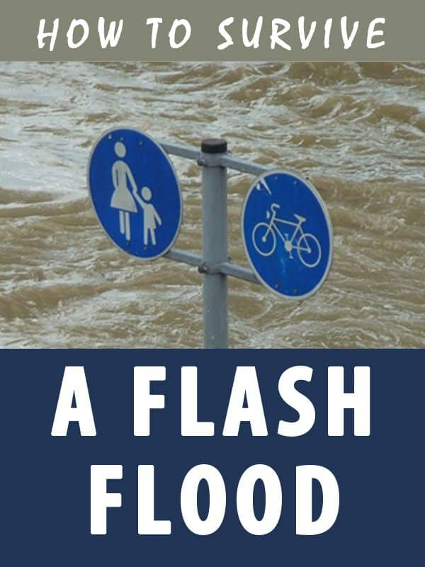 survive a flash flood pinterest