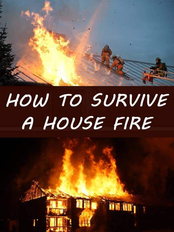 survive a house fire pinterest