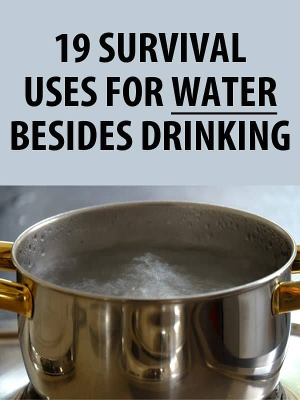 Survival Uses Water pinterest