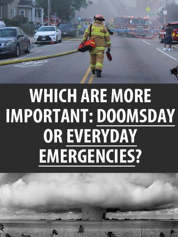 doomsday vs everyday emergencies pinterest