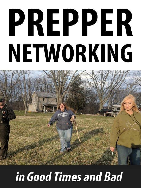 prepper networking pinterest