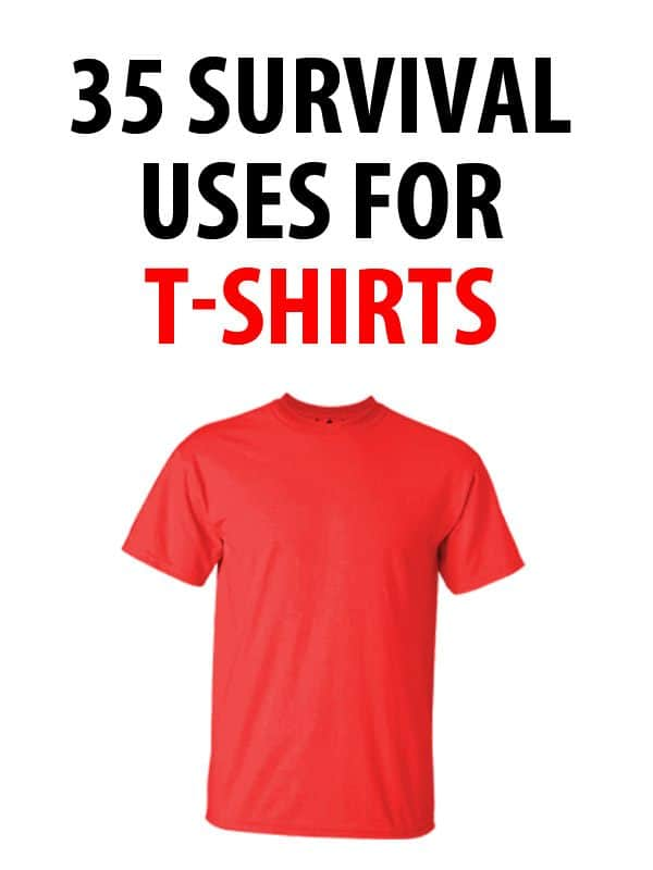 survival uses for t-shirts pinterest