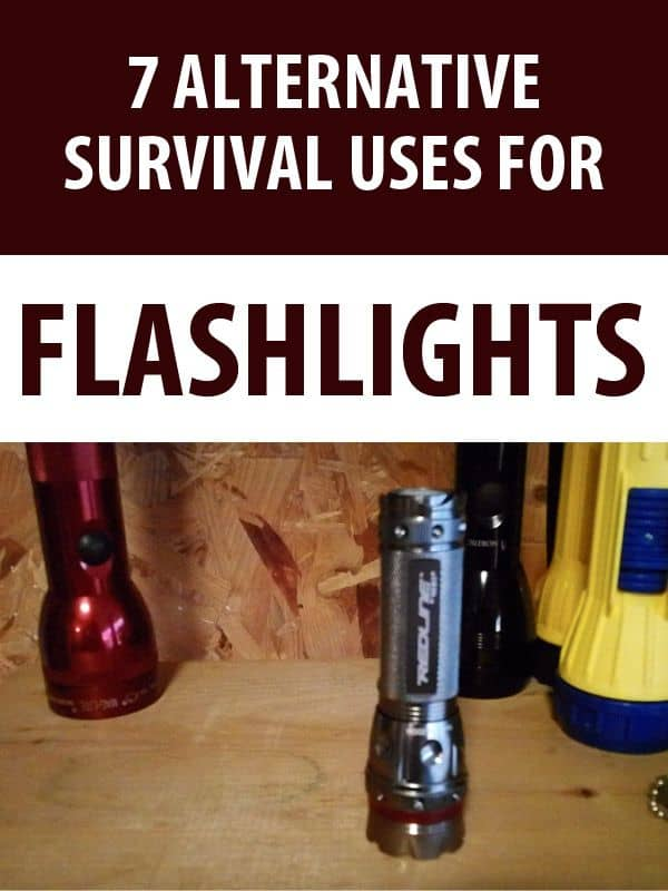 survival uses for flashlights pinterest