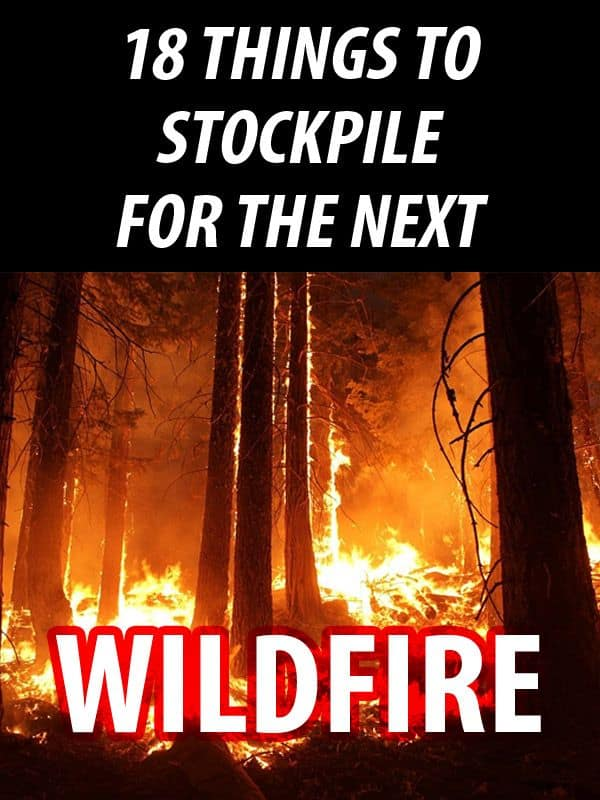 wildfire stockpile pinterest