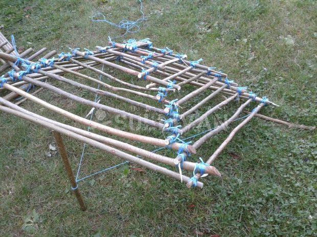 a traditional cage trap