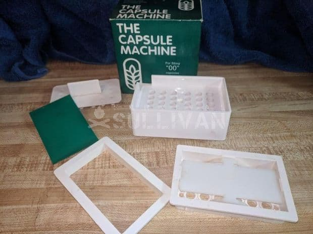 gel capsule maker machine