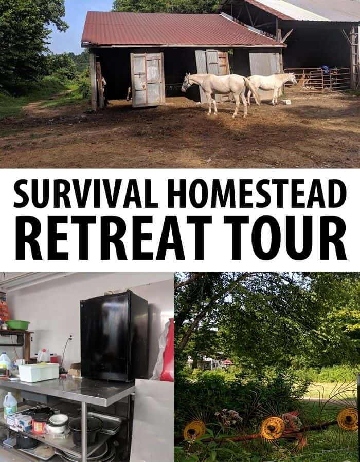 survival homestead tour pinterest