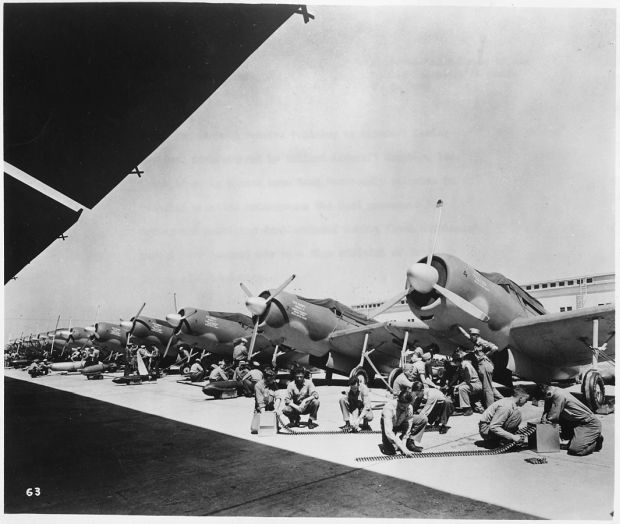 us navy dummy airplanes