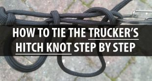 truckers hitch knot featured