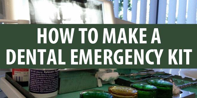 diy dental emergency kit