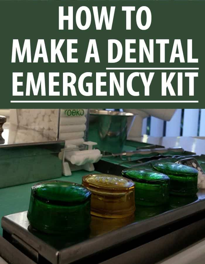 diy dental emergency pinterest