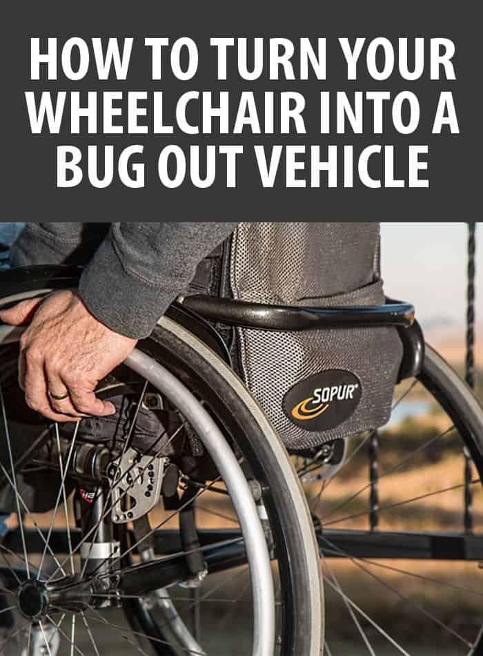 wheelchair bug out vehicle pinterest