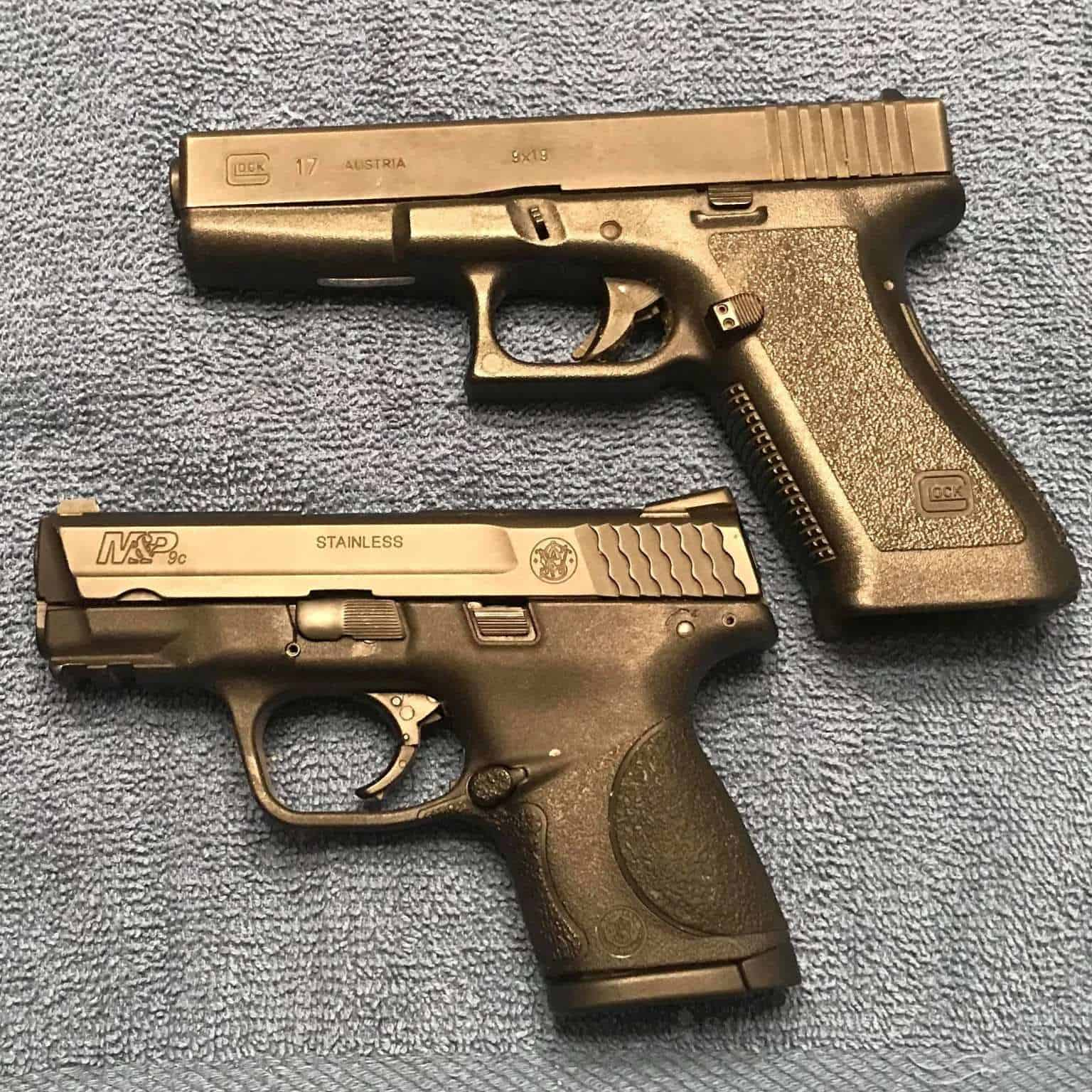 Glock 17 vs M&P 9
