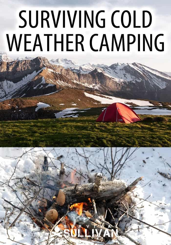cold weather camping pinterest