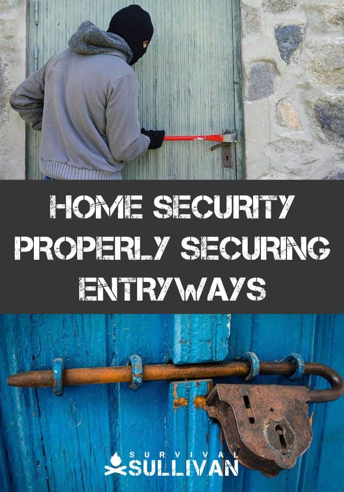 securing entryways pinterest