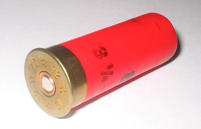 12 gauge shotgun shell