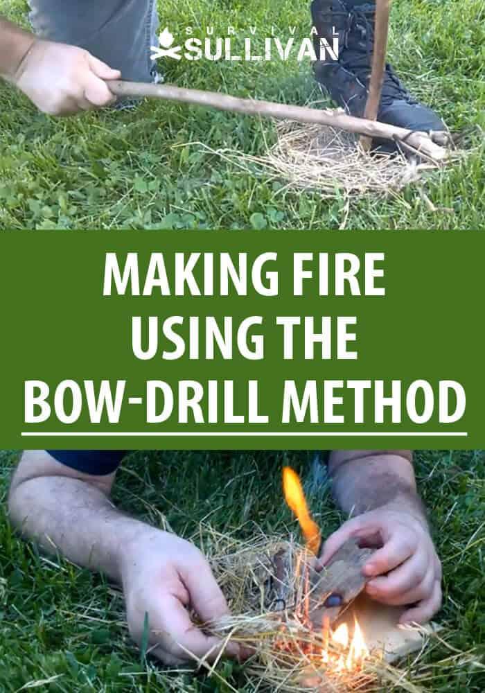 bow drill method pinterest