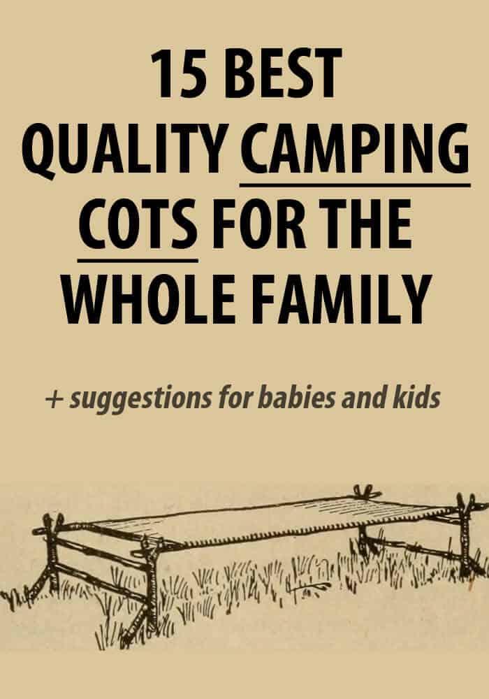 camping cot pinterest
