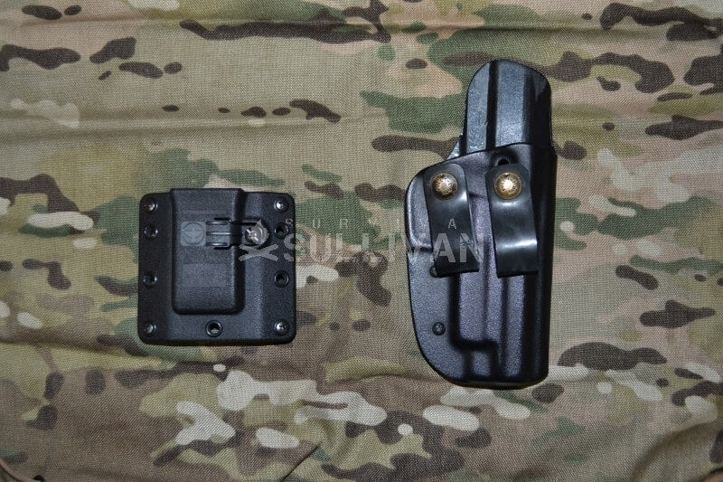 kydex holster and carrier, Blade Tech and Raven Concealment Copia