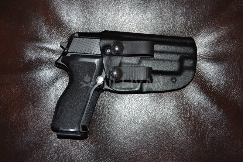 Sig Sauer P226 9mm in IWB holster