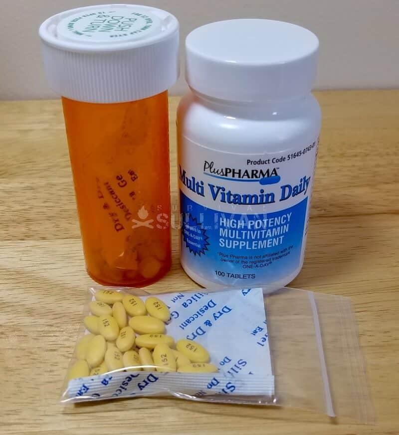 meds and some silica gel