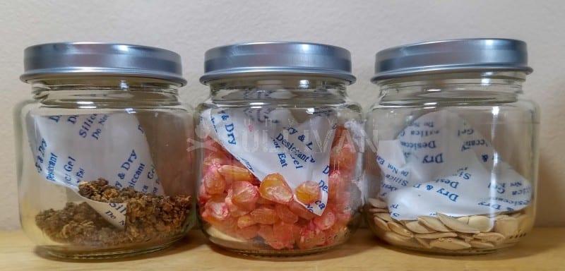 silica gel seeds