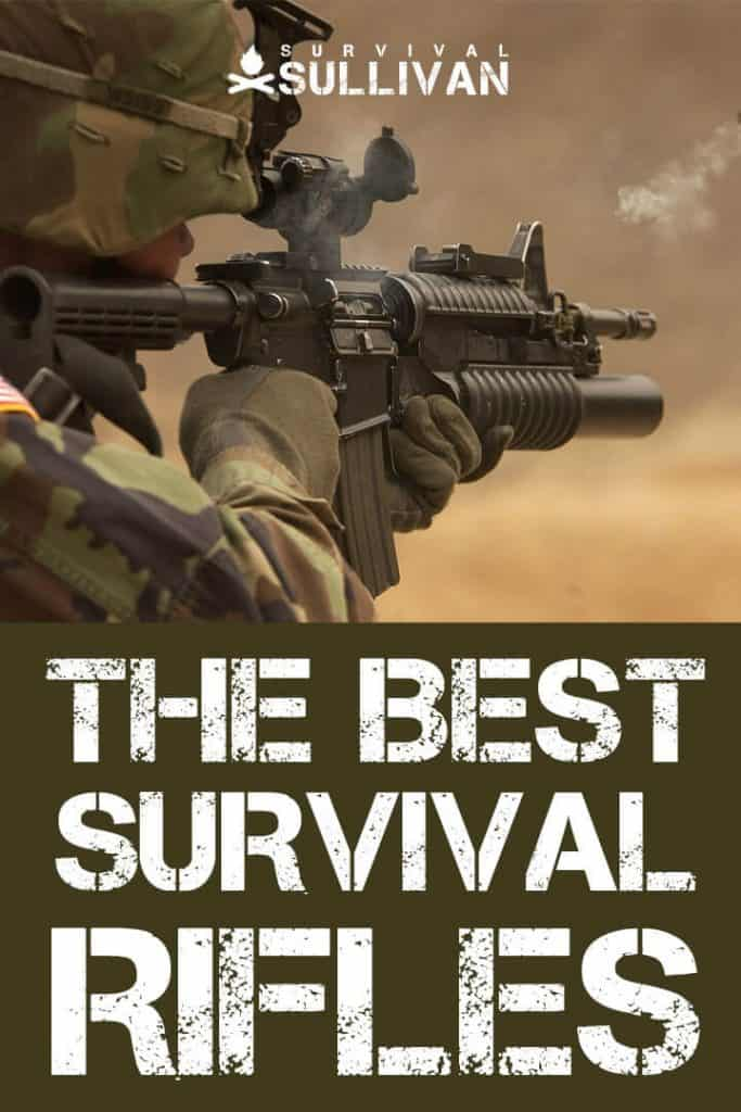 survival rifles pinterest image
