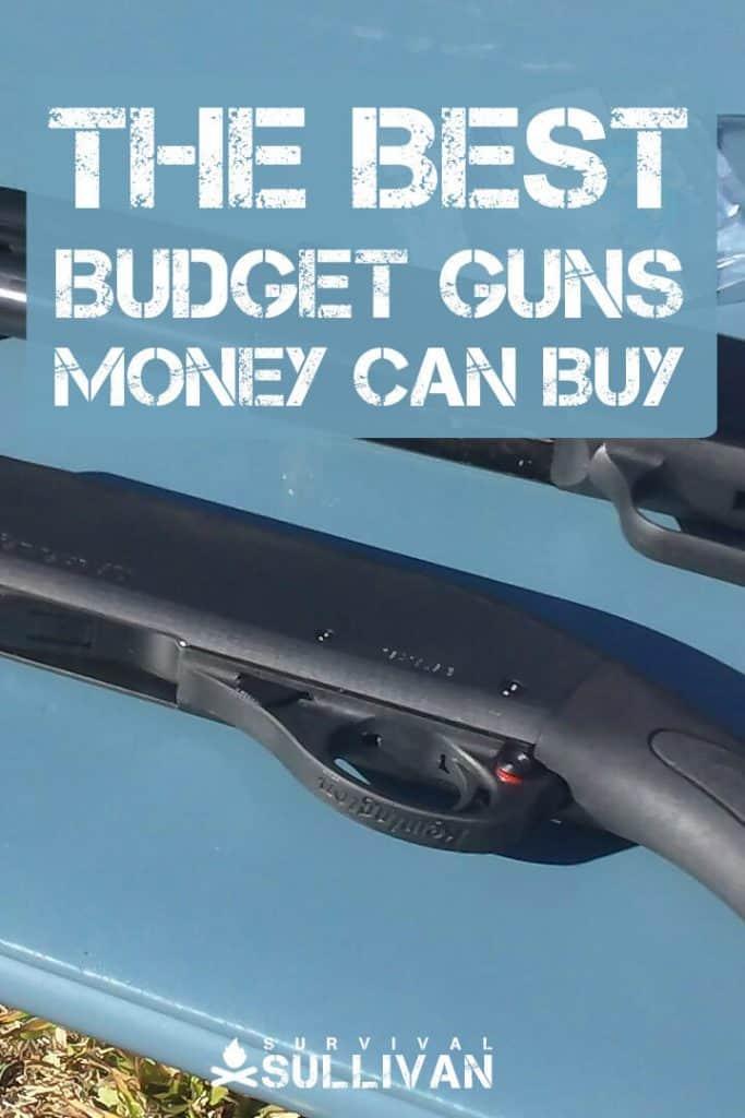 budget guns pinterest image