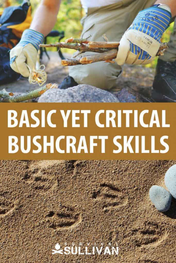 bushcraft skills pinterest