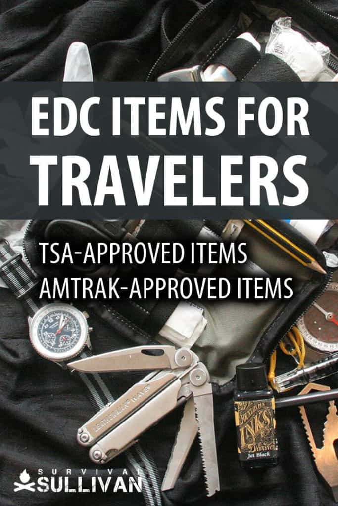 edc items for travelers pinterest image