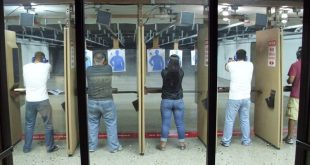 folks at shooting range