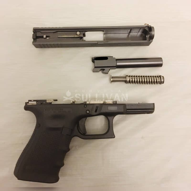 glock 19 disassembled