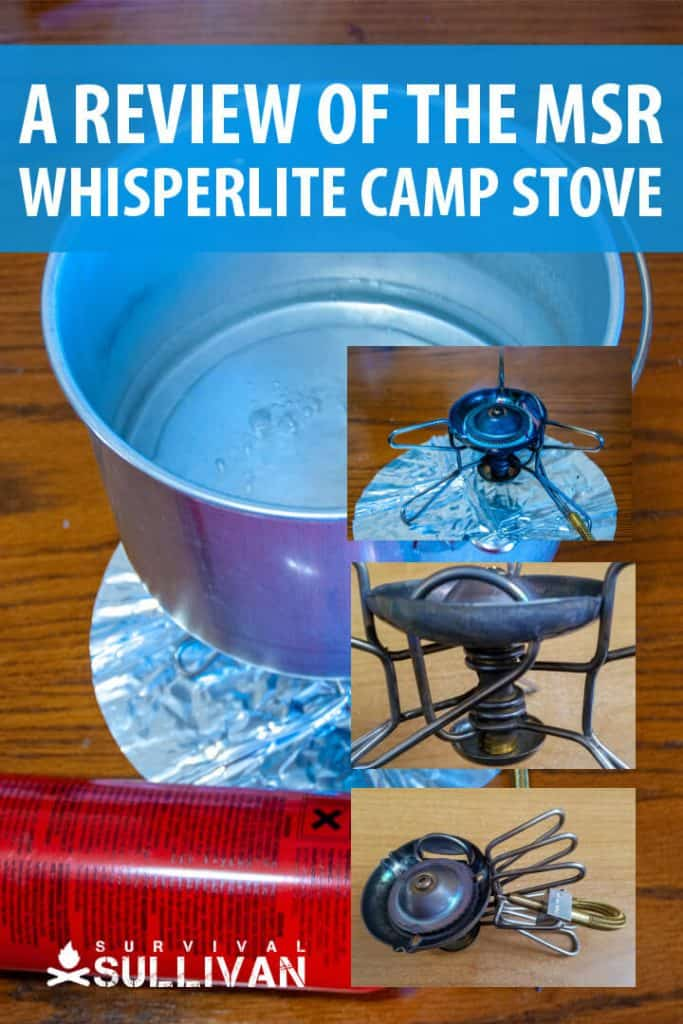 MSR Whisperlite review pinterest