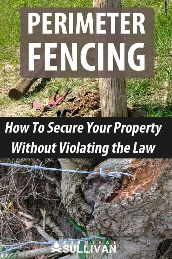 perimeter fencing pinterest image