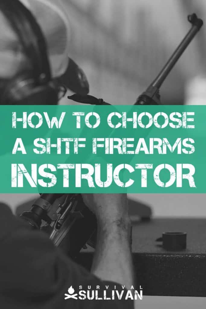 shtf firearms instructor pinterest