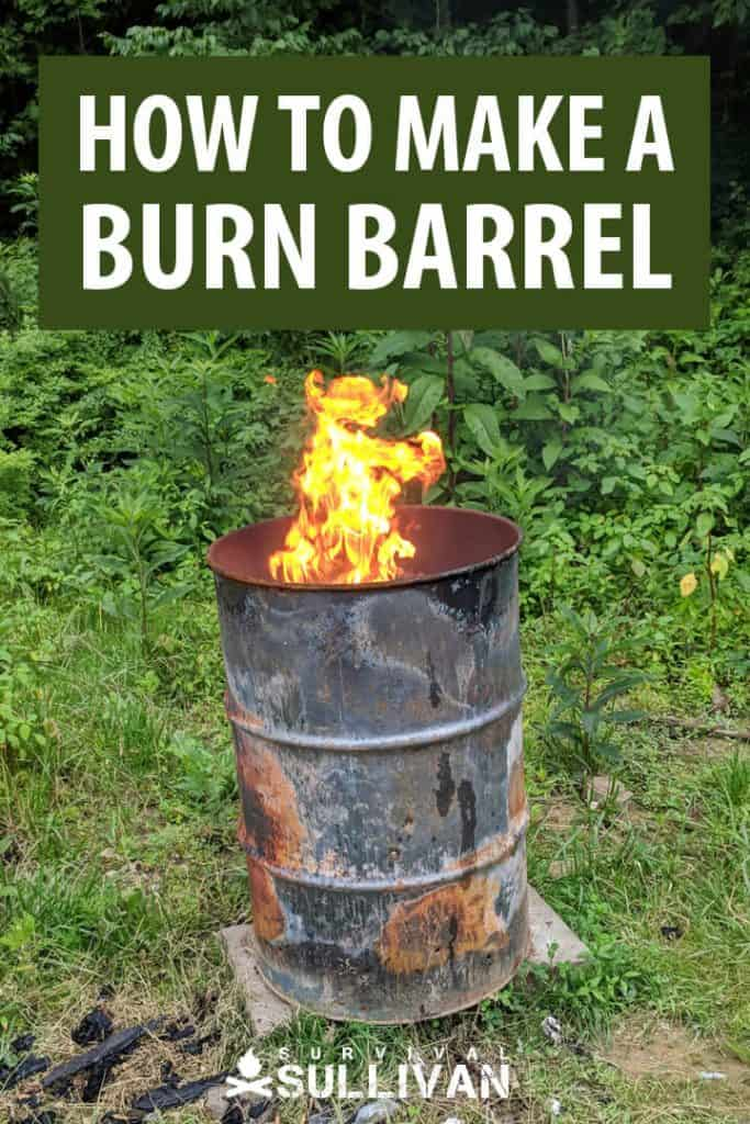 burn barrel pinterest