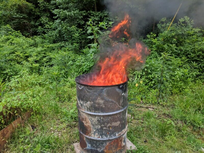 burn barrel