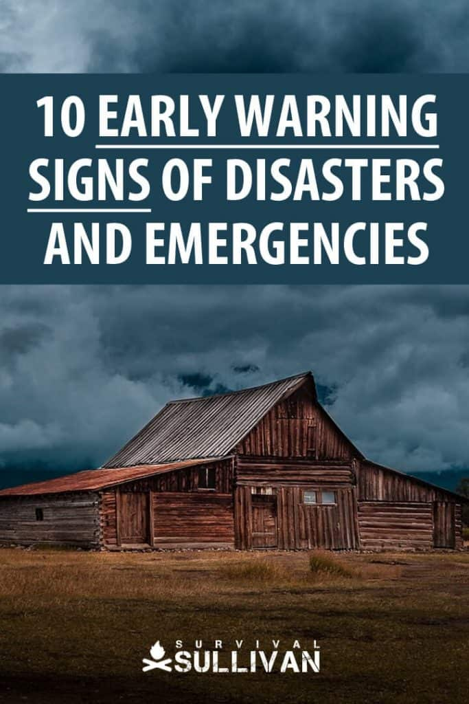 early warning signs pinterest