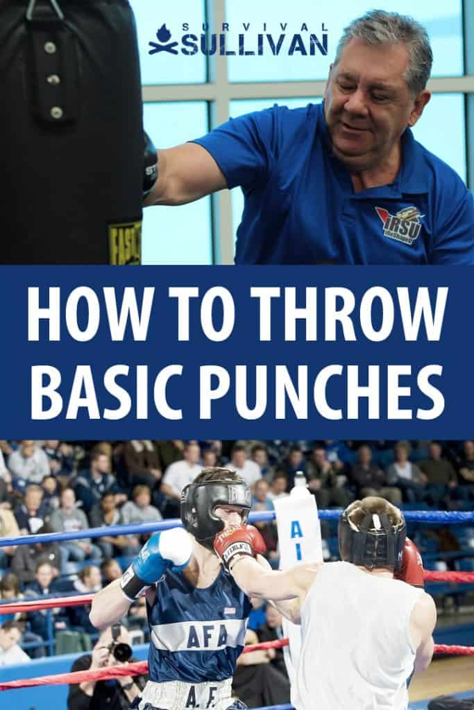 throwing basic punches pinterest