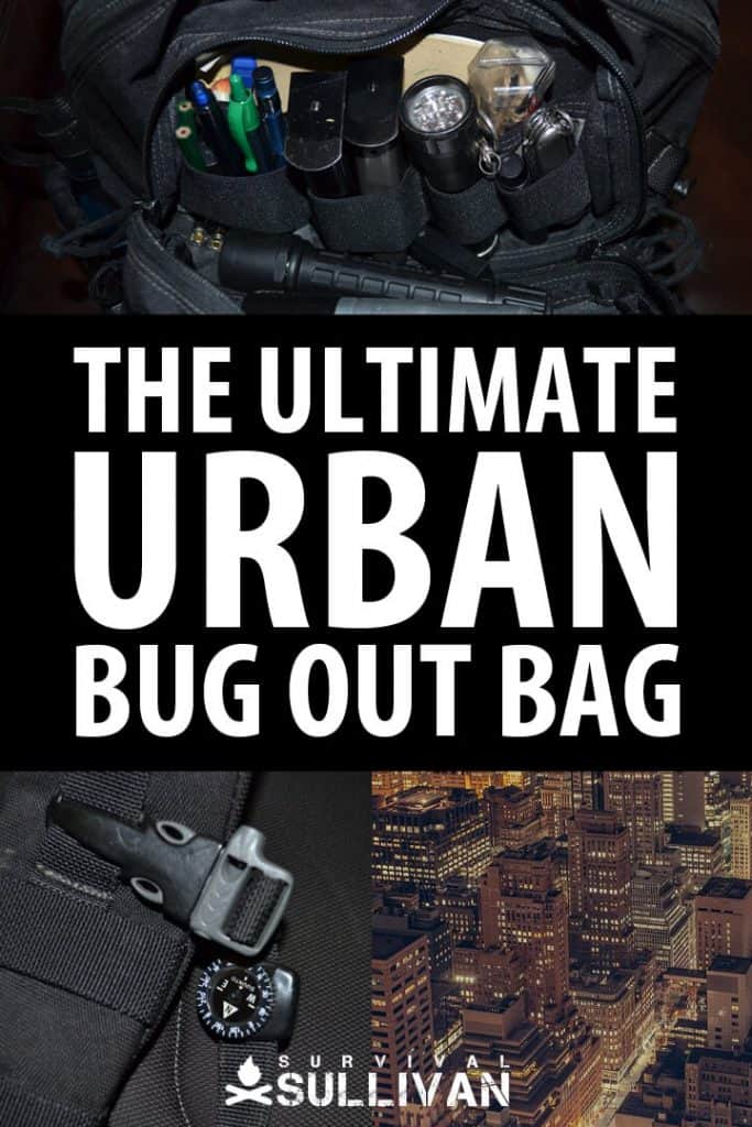 urban bug out bag pinterest