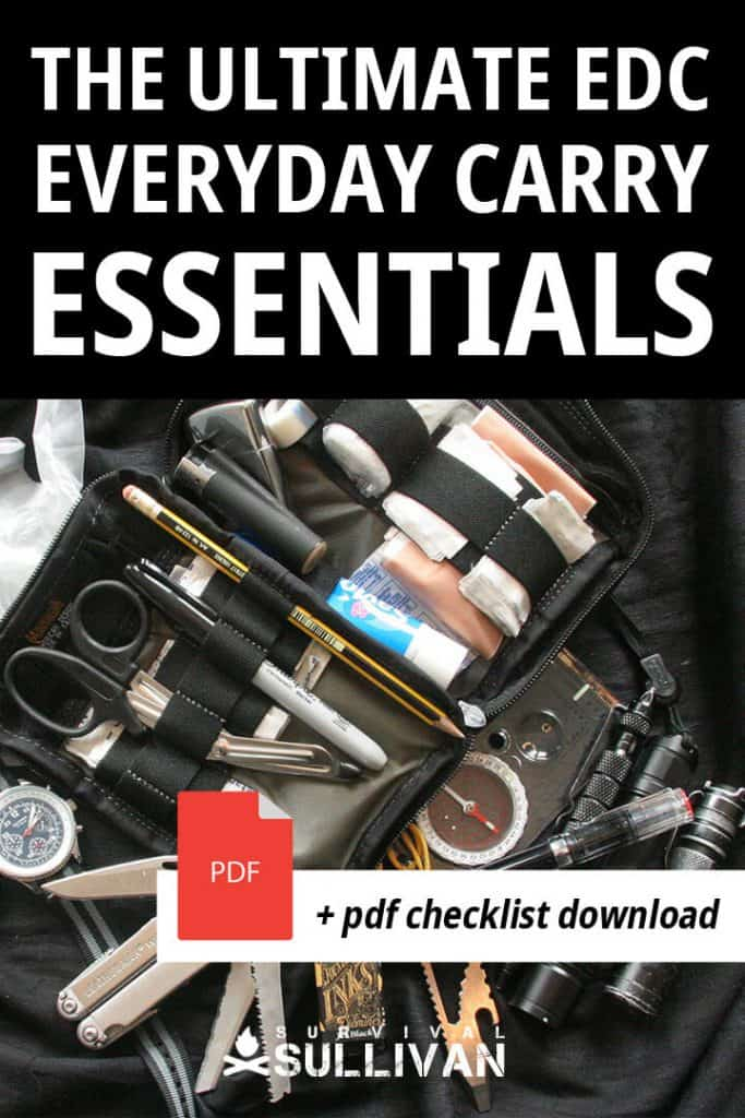 edc essentials pinterest